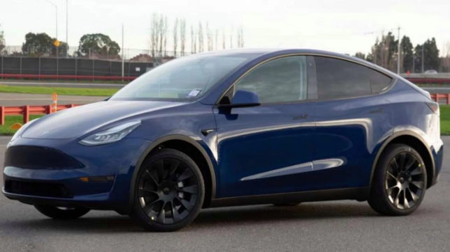 Tesla Model Y. © Tesla Motors
