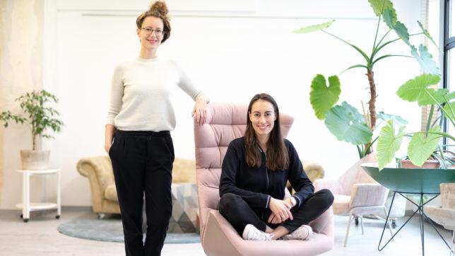 Klaudia Bachinger und Carina Roth von WisR. © WisR