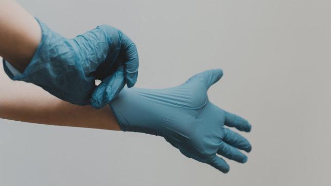 Reinigung, Desinfektion, Handschuhe, Schutzbekleidung
