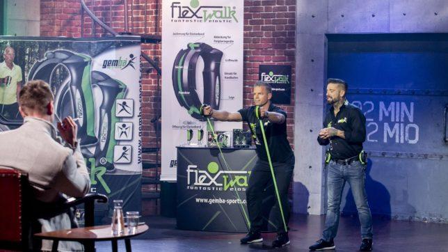 Daniel Polster bei der Präsentation von Flexwalk. © Gerry Frank Photography 2019