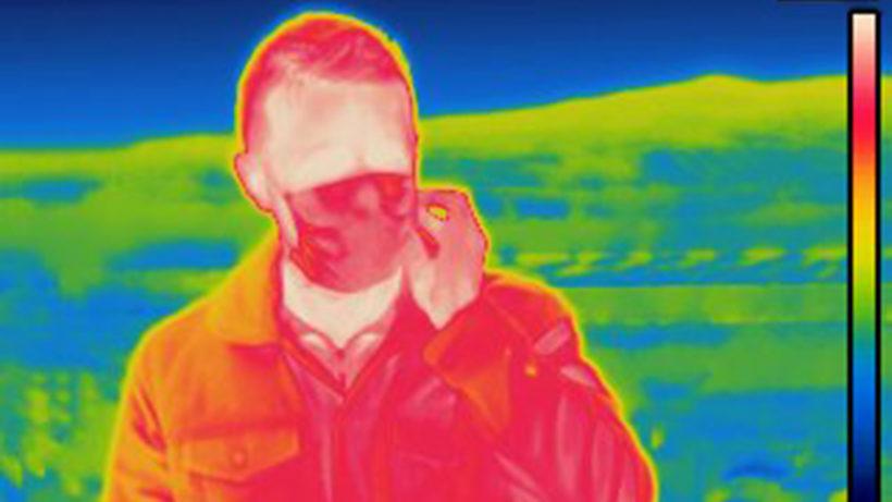 Intelligente Software kann auf Wärmebildern Gesichtsmasken erkennen © Kapsch