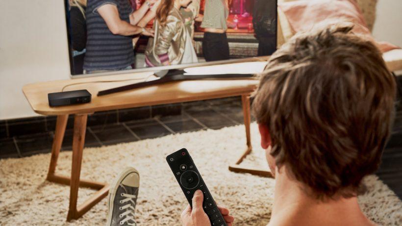 """Magenta zeigte auch eine neue Set-Top-Box namens """"Entertain Box 4K"""". © Magenta Telekom"""