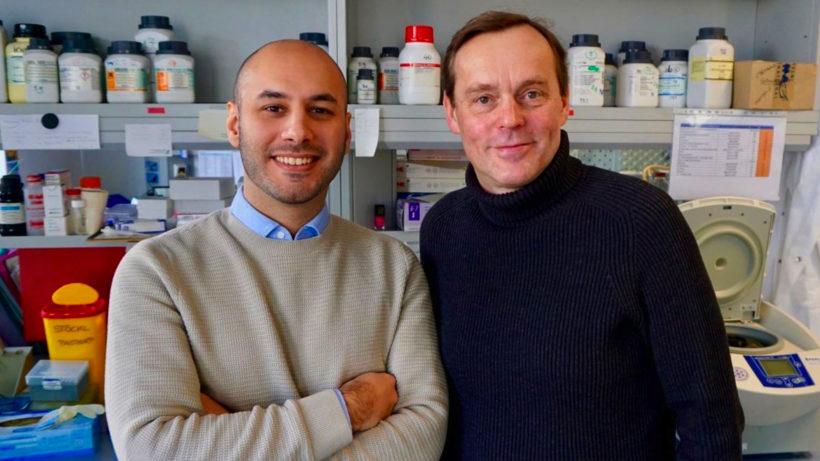 Guido Gualdoni und Johannes Stöckl, die Gründer von G.ST Antivirals. © G.ST Antivirals