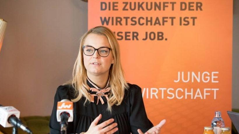 Christiane Holzinger, Bundesvorsitzende der Jungen Wirtschaft (JW). © Junge Wirtschaft