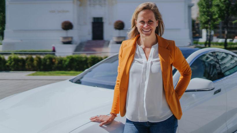 Lisa Ittner, Geschäftsführerin und Mitgründerin von carl. © carl/Felix-Hohagen-Photography