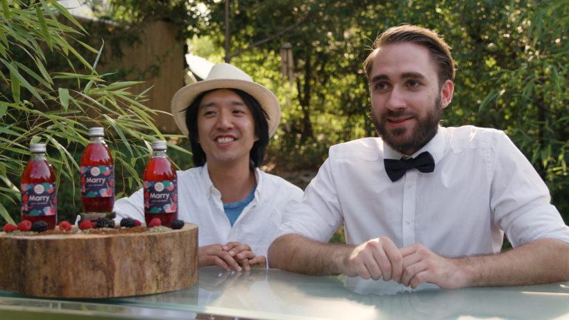 Xiaoao Dong und David Pott, die Gründer von Marry Icetea. © Marry Icetea