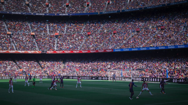 Camp Nou, Heimatstadion des FC Barcelona. © Michael Lee on Unsplash