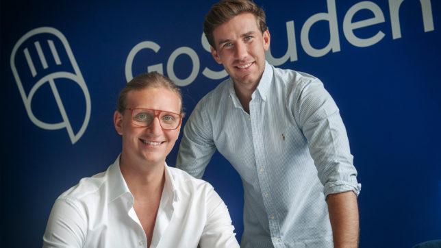Felix Ohswald und Gregor Müller, die Gründer von goStudent. © goStudent
