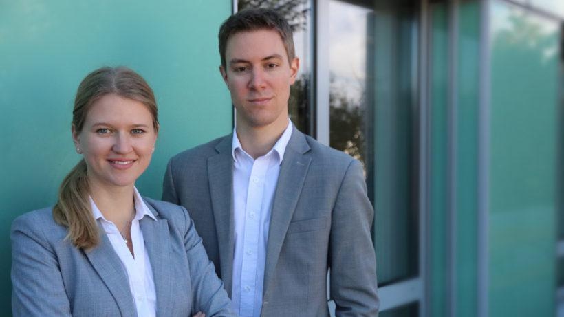 Lisa Smith und Harald Nitschinger von Prewave. © Prewave