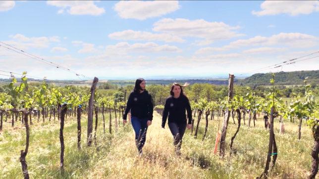 Julia Aigelsreiter und Melanie Scholze-Simmel von Vinotaria. © Trending Topics