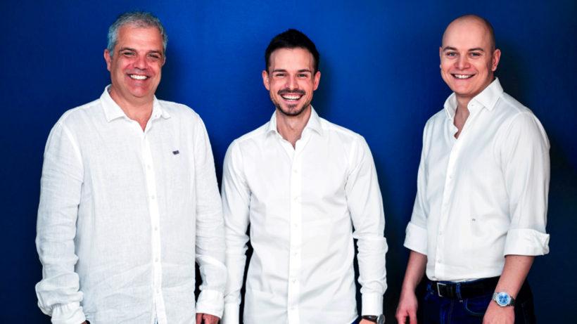 Tamás Petrovics, Lukas Seper und Dr. Zoltán Tarabo, die Gründer von XUND. © XUND