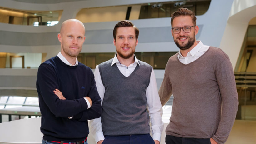 Das Gründerteam von Firstbird. © Firstbird
