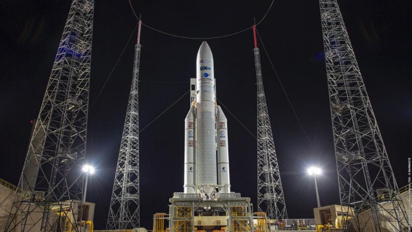 Ariane-Rakete bereit zum Start. © ArianeGroup
