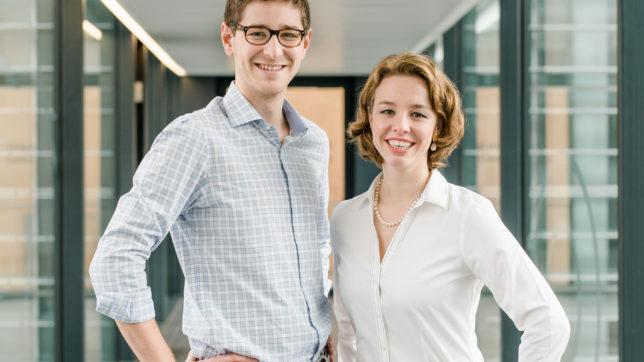 Die myBioma-Gründer Nikolaus Gasche und Barbara Sladek © myBioma