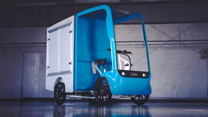 Das 2Cube ist ein emissionsfreier Kleintransporter. © EAV