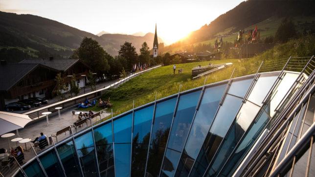 Am Europaforum Alpbach. © Bogdan Baraghi