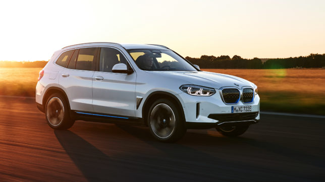 BMW iX3. © BMW Group