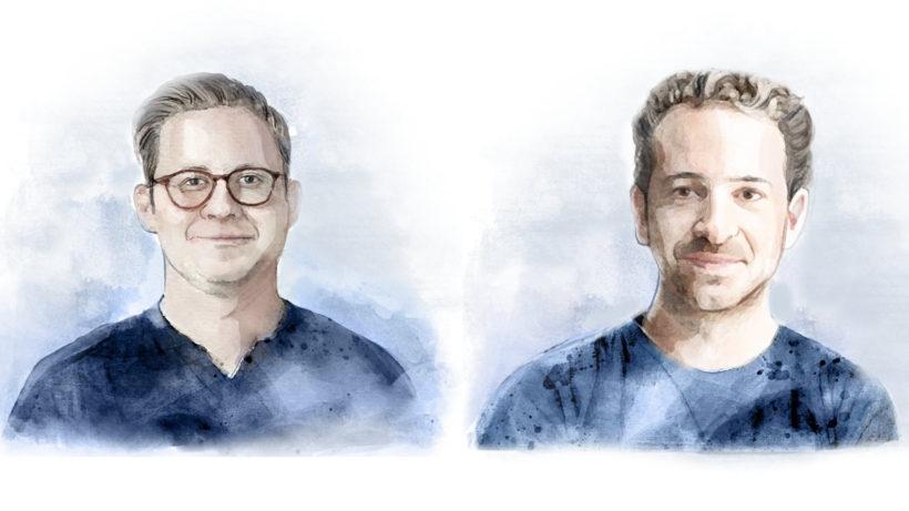 Michael Ströck und Lucanus Polagnoli. © Calm/Storm Ventures