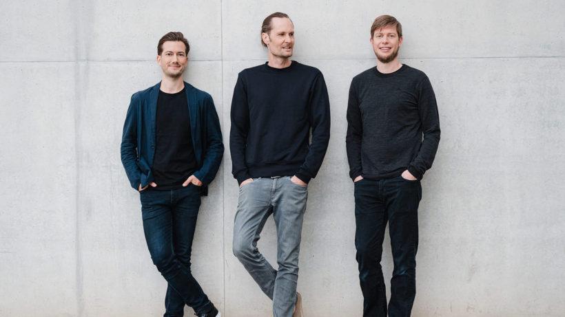Alexander Ljung (Chairman), Eric Quidenus-Wahlforss (CEO) und Christian Springub (COO) von Dance. © Dance.co