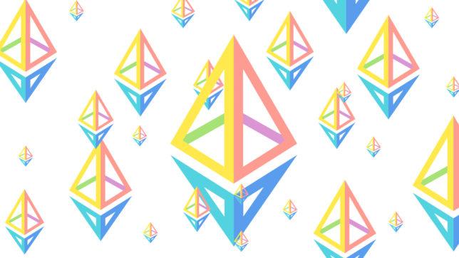 Das neue Ethereum-Logo. © Ethereum.org, Montage Trending Topics
