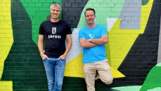 Michael Eisler, CEO der startup300 AG und Berthold Baurek-Karlic, Geschäftsführer der Dealmatrix GmbH und Gründer von Venionaire Capital. © Venionaire Capital