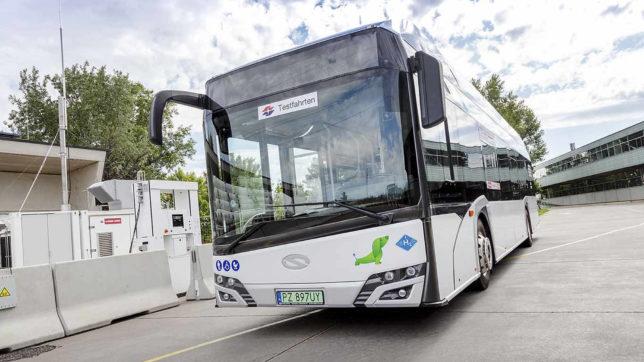 Wasserstoffbus der Wiener Linien. © Wiener Linien