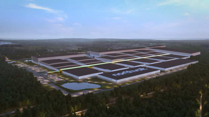 Northvolt Ett Fabrik in Schweden. © Northvolt