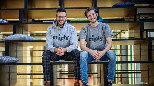Das triply-Founder Team Sebastian Tanzer & Christopher Stelzmüller. © triply