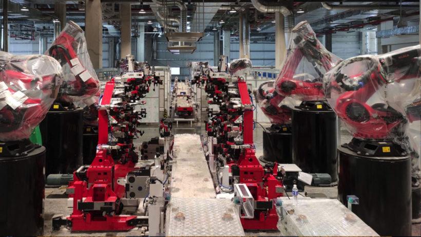In der Tesla Gigafactory in Shanghai. © Tesla