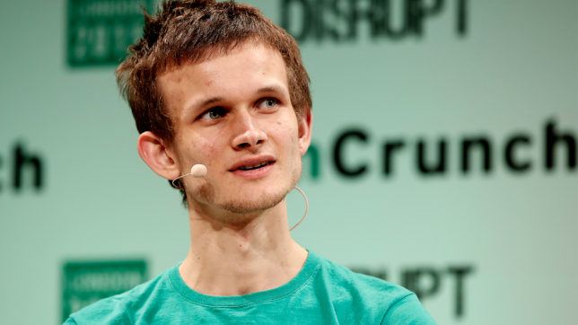 Ethereum-Gründer Vitalik Buterin. © John Phillips/Getty Images for TechCrunch via Flickr (CC BY 2.0)