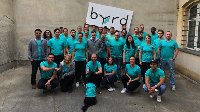 Das byrd-Team. © byrd