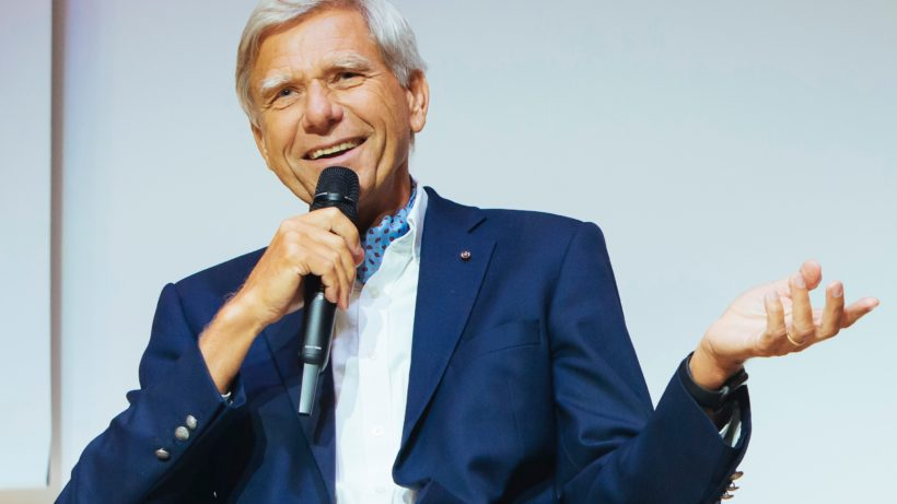 ARM-Mitgründer und Investor Hermann Hauser. © IECT
