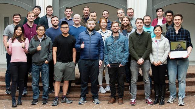 Das Chainlink-Team rund um Gründer und CEO Sergey Nazarov. © Chainlink