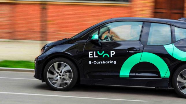 Carsharing von Elektroautos mit Eloop. © Eloop