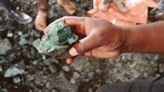 Kobaltabbau im Kongo. © The Impact Facility