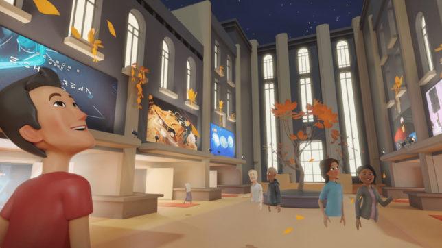 Oculus Venues, a social VR app by Facebook. © Facebook