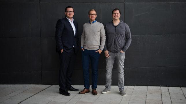 Hannes Freudenthaler, Martin Behrens und Martin Luftensteiner gründeten Presono 2015 in Linz. © Anzhelika Kroiss