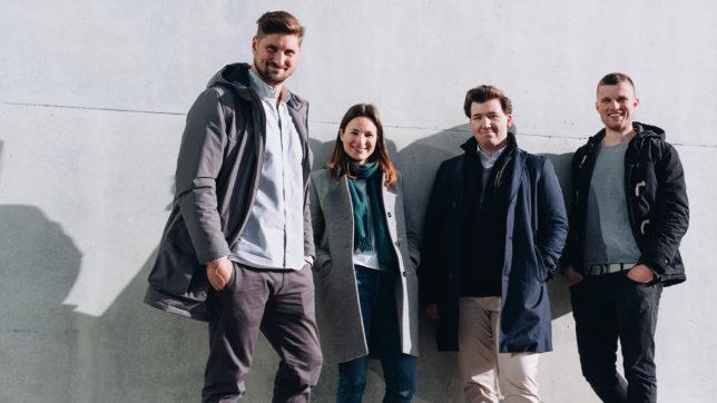 Das Gründer-Team von byrd. © byrd