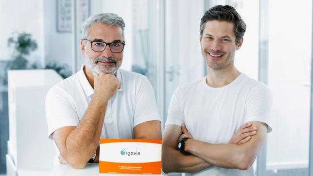 Gerhard Feilmayr und Dominik Flener, die Gründer von igevia. © igevia