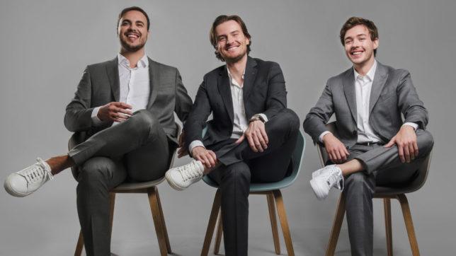 Die drei Bitpanda-Gründer. © Bitpanda