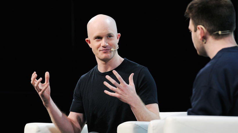 Coinbase-CEO Brian Armstrong. © Techcrunch (CC BY 2.0)