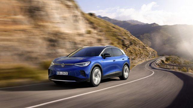 Der neue VW ID.4. © Porsche Mediaservice / VW