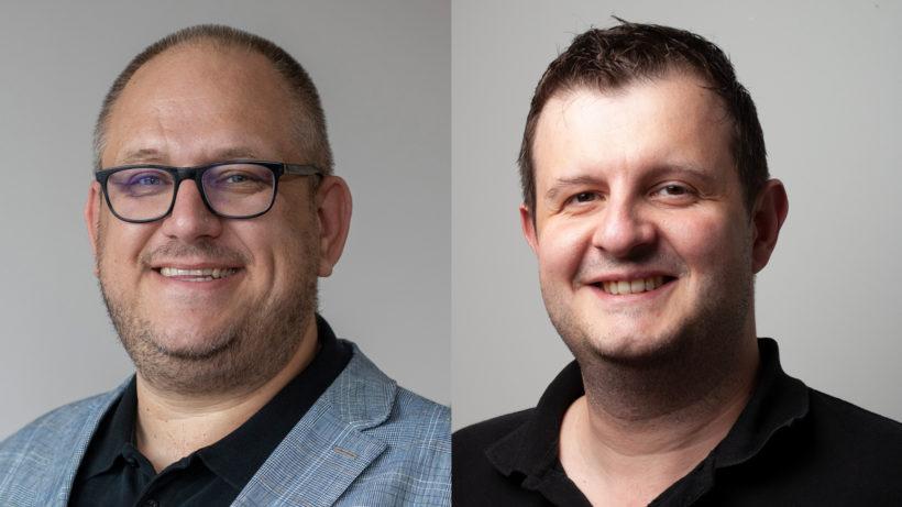 Thomas Gratz und Wilfried Mausz von dataformers. © dataformers