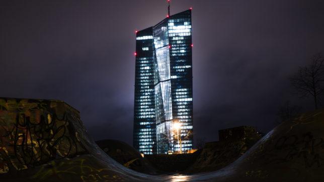 Europäische Zentralbank in Frankfurt. © Paul Fiedler on Unsplash