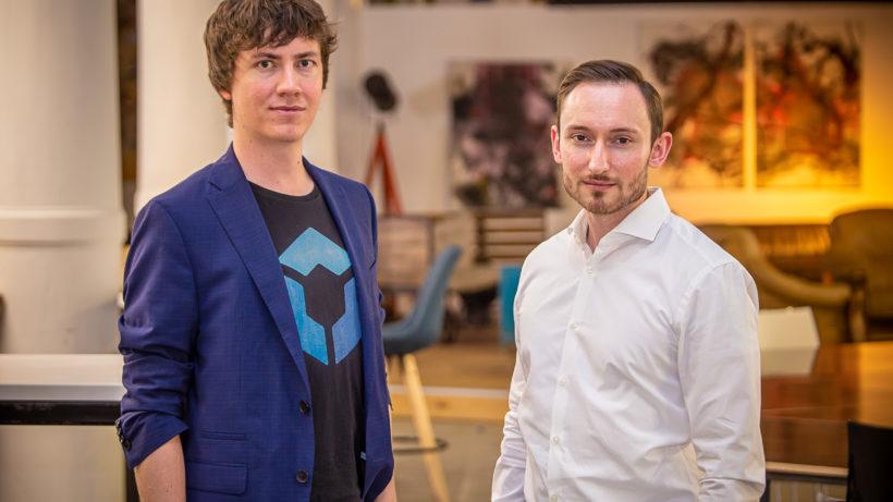 Florian Wimmer, Gründer und Geschäftsführer Blockpit und Klaus Himmer, Gründer und Geschäftsführer von CryptoTax. © Blockpit