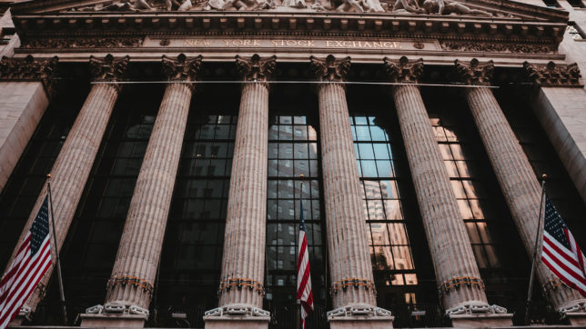 Die New York Stock Exchange an der Wall Street. © Aditya Vyas on Unsplash