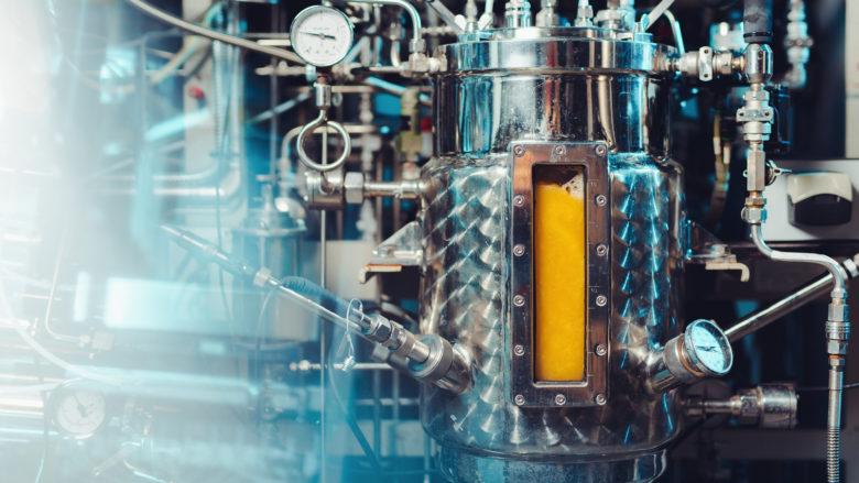 Solein-Produktion im Bioreaktor. © Solar Foods