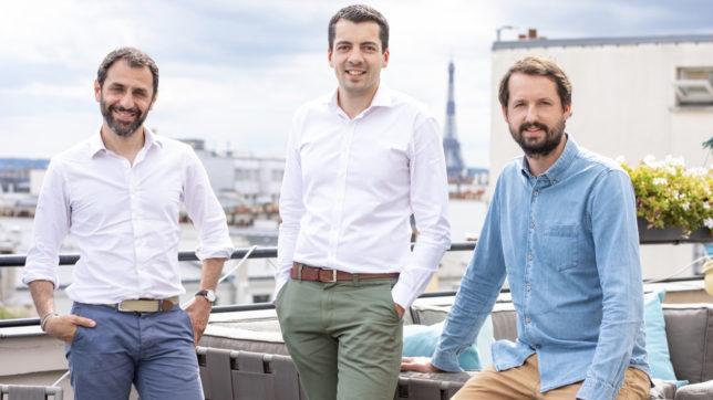 Nicolas Benady (CEO), Mathieu Breton (CTO) und Nicolas Saison (COO) von Swan. © Swan.io