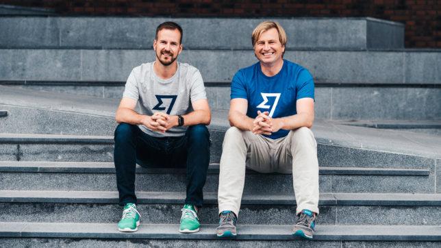 Taavet Hinrikus und Kristo Käärmann, die beiden Gründer von TransferWise. © TransferWise