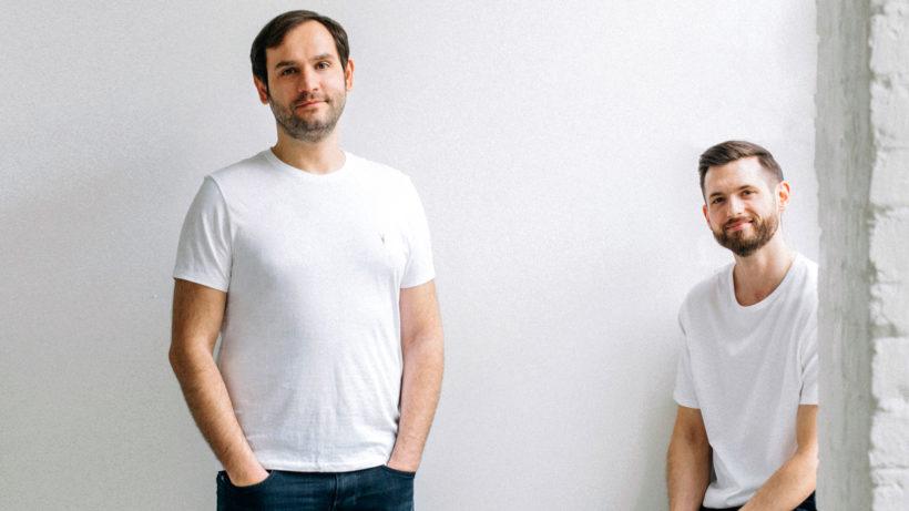 Victor Cazacu und Paul Friedrich von Upper.co. © Upper.co